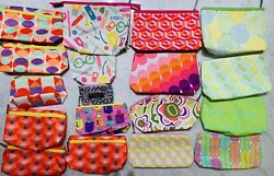 NEW Lot of 18 Clinique Makeup Cosmetic Purse Clutch Case Bag All Brand New $14.00