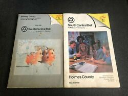 Telephone Directories/books Holmes County Texas South Central Bell