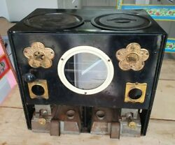 Antique Rippingille's Stove 1880's Paraffin Cooker Oven Very Rare K469