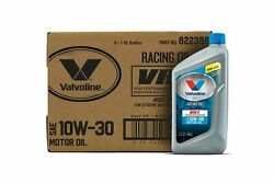 Valvoline Vr1 Racing Sae 10w-30 Motor Oil 1 Qt, Case Of 6 Conventional