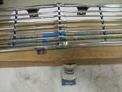 Grille And Mounting Brackets, 1965 Ford Fairlane