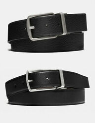 Nwt Coach Harness Buckle / Wide Harness Cut-to-size Reversible Belt