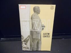 Very Very Rare Rizal 1968 Philippine Nationalist And Martyr Austin Coates Unread