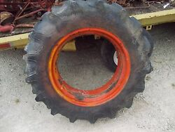 Case Vai Vac Tractor 11.2.x24 97 Tread Firestne Tire And Single Band Mount Rim