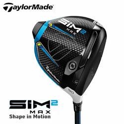 Can Be Delivered Immediately Taylormade Japanese Specifications Sim2 Max