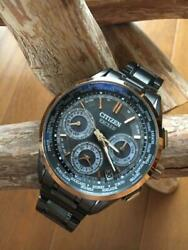 Citizen Exceed Cc9055-50f Limited Edition Eco-drive Solar Mens Watch Auth Works