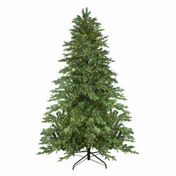 Northlight 7.5' Mont Blanc Fir Artificial Christmas Tree - Dual Color Led Lights