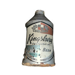 Crowntainer Cone Top Beer Can Kingsbury Funnel No Bottom Sheboygan Wi Wis