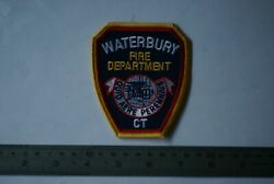 Waterbury Fire Department Patch, Connecticut