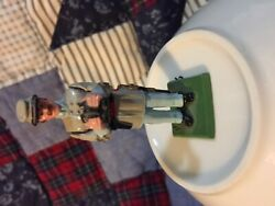 Vintage Hand Painted Ron Wall Toy Civil War Soldier Confederate W/binoculars