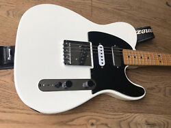 Fender Squier Vintage Modified Tele Ssh Olympic White Made In India 2009