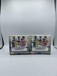2020-21 Topps Bundesliga Chrome Sapphire Factory 2 Sealed Boxes In Hand