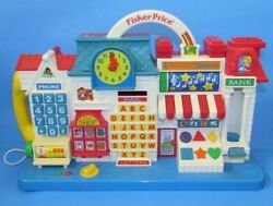 Fisher-price 1994 Smart Street Electronic Learning Tool Tested Works 17 L@@k