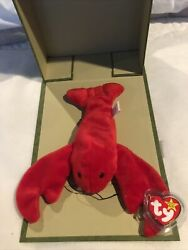 Pinchers The Lobster Beanie Baby 1993 Pvc