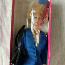 Vintage 1972 American Airlines Barbie Doll Cabin Attendant Version Style And Box