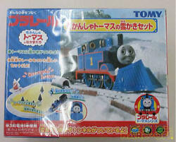 Used Tomy Thomas The Tank Engine Plarail Trains Vehicles With Accessories Box