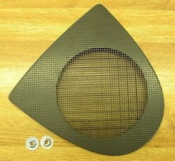 Front Door Speaker Grille / Cover 03-07 Cadillac Cts Dark Pewter Fits Rh Or Lh