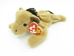 Ty Beanie Baby Derby Horse Rare Tag Errors Retired Pvc Pellets 9-16-1995