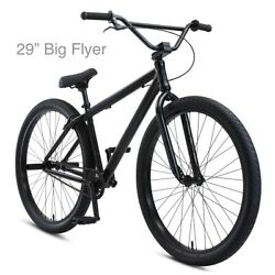 2021 Se Bikes 29 Big Flyer Stealth Black New In The Box / Free Shipping
