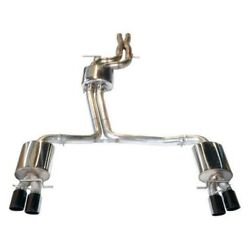 Awe 3040-42012 Touring Quad Tip Exhaust For Audi B7 A4 3.2l Polished Silver Tips