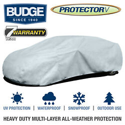 Budge Protector V Car Cover Fits Chevrolet Malibu 2009| Waterproof | Breathable