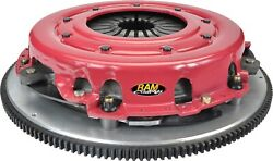 Ram Clutches 90-2125 Rtrack Street Complete Dual Disc Organic Clutch Assembly