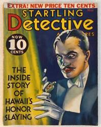 Startling Detective Adventures - May 1932 - Vg+ - Cudahy Kidnapping, Communists