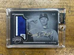 Patch Card With Darvish Sign Use Hologram Limited To Piece 2014 Topps