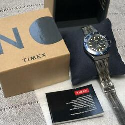 New 2021 Timex M79 Nn07 Collaboration Model Wristwatch With Instructions Box