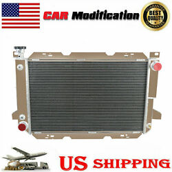3 Row Aluminum Radiator For 1985-1997 1995 86 89 92 Ford F150 F250 F350 And Bronco