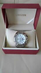 Citizen Discontinued Divers White Mens Watch Authentic Working