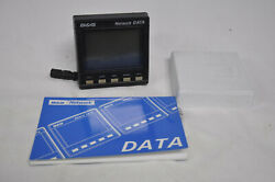 Bandg Network Data Display Instrument Head W/ Cover And Manual