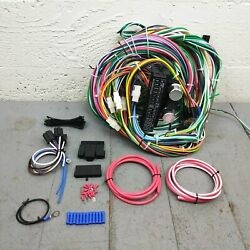 1971 - 1986 Jeep Cj Wire Harness Upgrade Kit Fits Painless Fuse Block Terminal