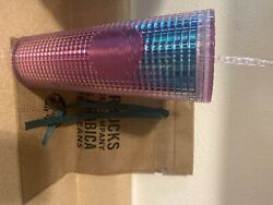 Starbucks Venti Pink And Blue Summer 2021 Cup