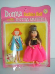 Super Scarce The One And The Only Tiny Teen Uneeda Doll Gorgeous Donna