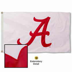University Of Alabama Embroidered And Appliqued Nylon Flag
