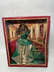 2010 Holiday Barbie African American Barbie Collector Nrfb. Dented Box