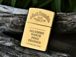 Zippo Lighter - Jack Daniels- All Goods Worth Price Charged - Old No. 7 - Rare
