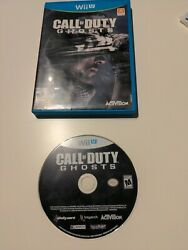 Call Of Duty Ghosts Nintendo Wii U Complete Game And Case
