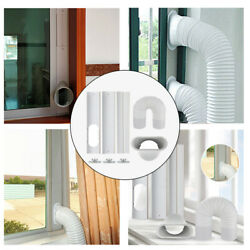 Window Seal Plates Kit For Portable Air Conditioners For Sliding Glass Doors