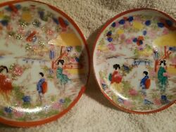 Old2fine Antique Chinese Porcelain Plate Early C19th Hand Painted Oriental Decor