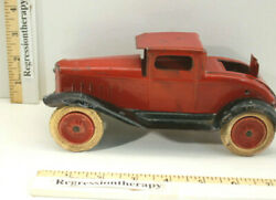 Vintage 1930 Wyandotte Toys Model A Ford Coupe W/ Rumble Seat Pressed Steel Car