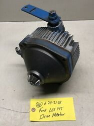 Ford Lgt-145 Open-side Tractor Hydraulic Hydro Drive Pump