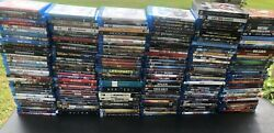 Disney/marvel Blu-ray Disc Movie Lot - Massive Collection Over 206