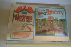 Marx Sears Heritage Battle Of The Alamo Playset And Box Sons Of Liberty