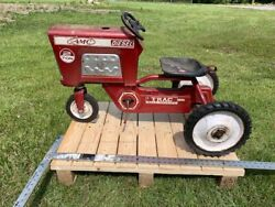 Murray Amc Tractor Red Diesel 2 Ton Trac Ball Bearings Vintage Pedal Car