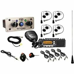 Pci Trax California Ultimate 4 Seat Bluetooth Package With Helmet Wiring Kits