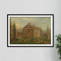 Edward Lamson Henry - The Battle Of Germantown 1777 Poster Painting Art Print