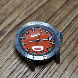 Benrus Automatic New Old Stock Diver Case Dial And Hands Parts No Mment C166