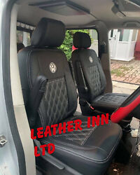 Vw Transporter T6 Seat Covers Shuttle 8 Seaters 1+1 And 1+1+1 And Triple Bench